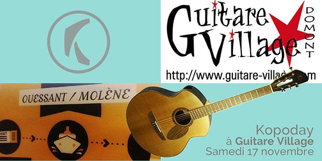 Guitare Village Magasin Et école De Musique à Domont 95
