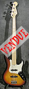 fender jazz bass deluxe d'occasion