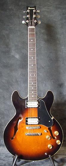 Guitare Village Guitare Jazz D Occasion Ibanez As 50 Japan