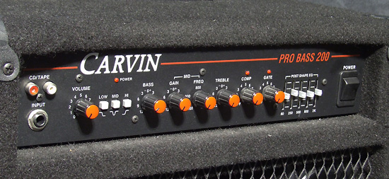 Carvin Pro Pro Bass 200 made in USA