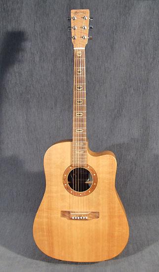 occasion guitare acoustiques martin dcx1e guitare village domont 95. Black Bedroom Furniture Sets. Home Design Ideas