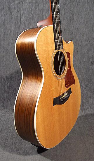 occasion guitare acoustiques taylor 414ce guitare village. Black Bedroom Furniture Sets. Home Design Ideas