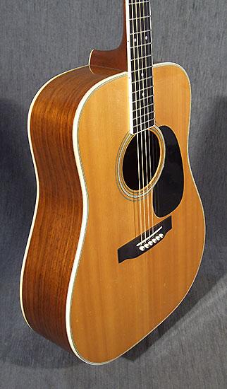occasion guitare acoustiques martin d35 de 1973 guitare village domont 95. Black Bedroom Furniture Sets. Home Design Ideas