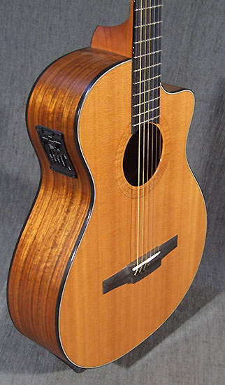 occasion guitare acoustiques taylor ns42 ce guitare. Black Bedroom Furniture Sets. Home Design Ideas