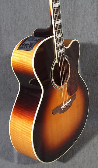 Occasion guitare acoustiques takamine ef 250 tk toby keith for Guitar domont