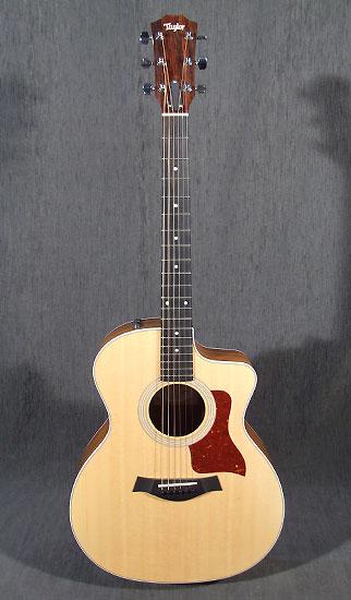 occasion guitare acoustiques taylor 214ce guitare village. Black Bedroom Furniture Sets. Home Design Ideas