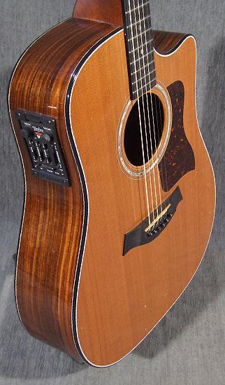 occasion guitare acoustiques taylor 710ce guitare village. Black Bedroom Furniture Sets. Home Design Ideas